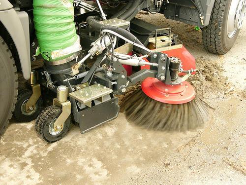 Both Side Adjustable Road Cleaner