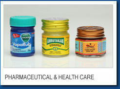 Pharmecuticales And Healthcare Label