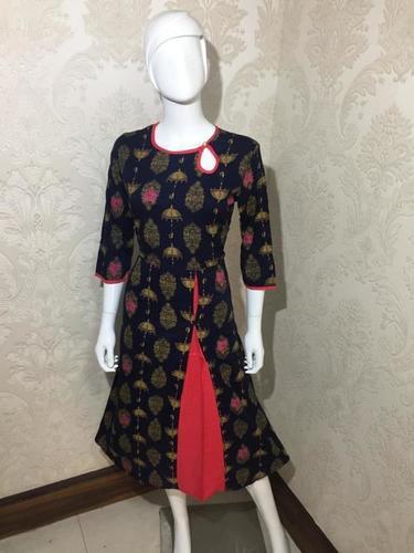 Trendy Short Kurti For Ladies