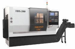 Slant Bed Turning Machine - Tbx-200 ( Siemens 808d)