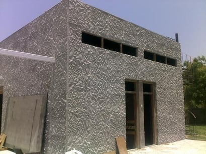 High Functional Efficiency Concrete Elevation Panel