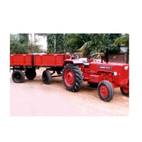 Red Agriculture Tractor Trailers