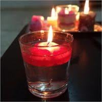 Red Color Floating Candle