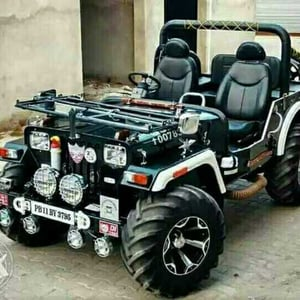 Exclusive Modified Willys Jeep
