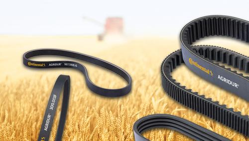Black Continental V Belts