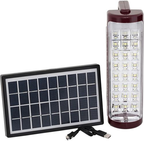 Solar Emergency Lights and Panel