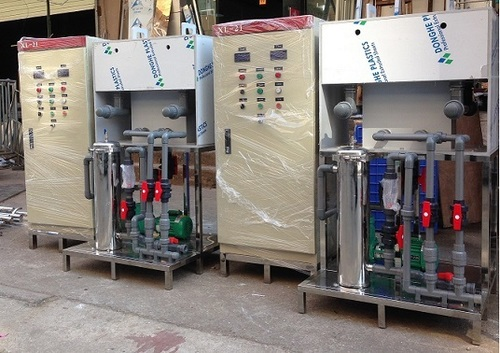 High Performance Electrocoagulation Unit