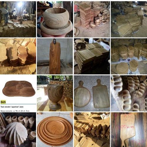 Food Grade Teak Wood Bowl