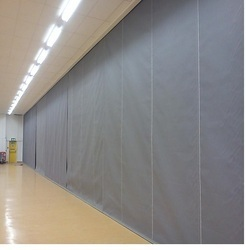 Polyester Fire Curtain