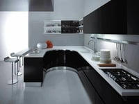 Premium Finish Modular Steel Kitchen
