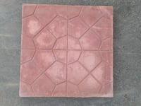 Plastic Mould Checkered Tiles