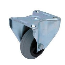 Highly Protective Fixed Caster Wheel