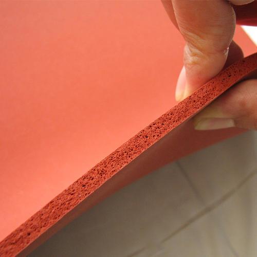 Seamless Finish Silicon Sponge Sheet