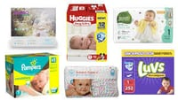 Pure Cotton Baby Diapers