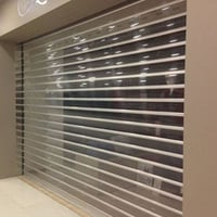 Automatic Polycarbonate Rolling Shutter
