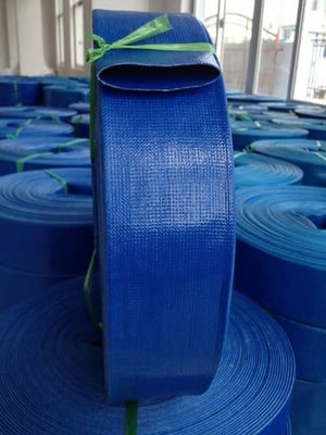 PVC Agriculture Irrigation Flexible Lay Flat Discharge Water Pump Construction Hose