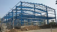 Prefabricated Industrial Steel Structures