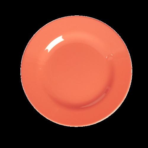 Orange Color Rice Plates
