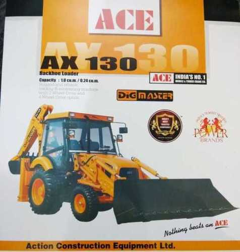 Backhoe Loader (Ace Ax130) - Hare Krishna Sales and Service, AB 70