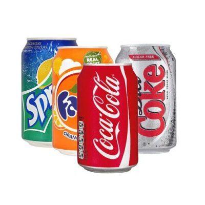 Soft Drinks Cans (Coca Cola Coke Fanta Sprite) in Warsaw