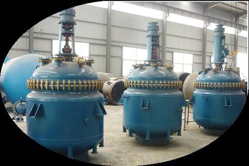 100l-30000l Glass Lined Synthesis Reactors