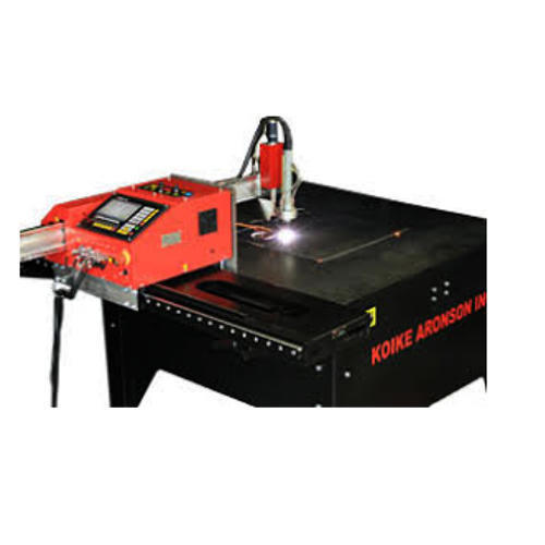 PORTABLE CNC CANTILEVER PROFILE GAS CUM PLASMA CUTTING MACHINE