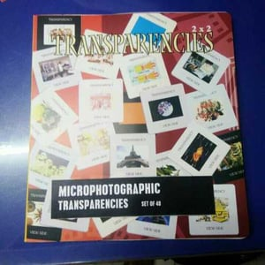 35mm Biological Microphotographic Transparencies
