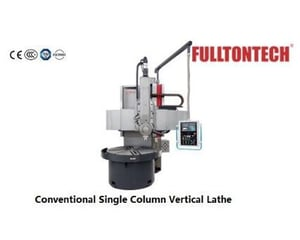 Conventional Single Column Vertical Turning Lathe