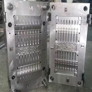 Plastic Tooth Brush Handle Injection Mould