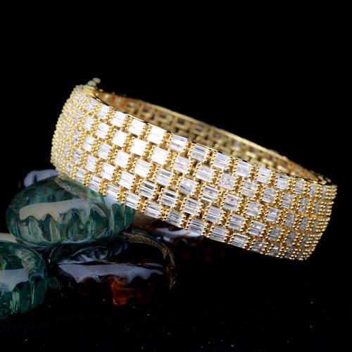 Brass Cz Bracelet
