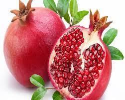 Organic Fresh Red Pomegranates