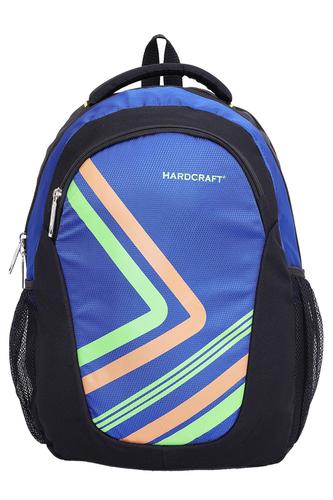 Hard Craft Unisex's 15 Inch Laptop Backpack Lightweight (D-Blue-Black)