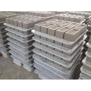 Fly Ash Brick Recycle Plastic Sheets Pallets