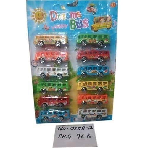 Pull Back Dreams Bus Toys - V  G  MARKETING PVT  LTD , 2365