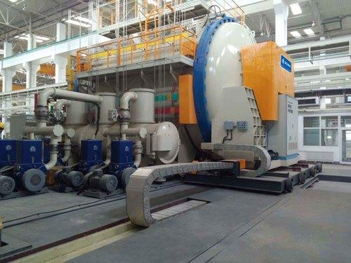 Acme Vacuum Carbonization Furnace