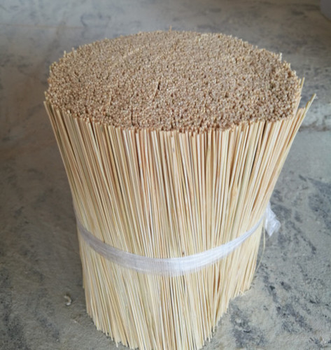 1.3mm Round Bamboo Incense Stick 8, 9, 12 Inch