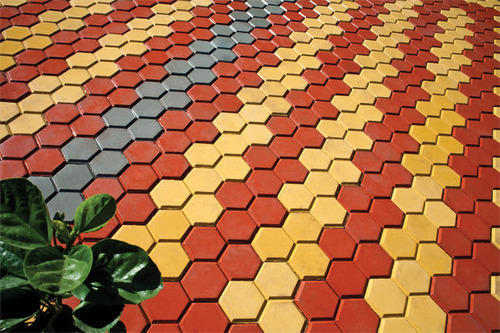 Decorative Concrete Interlocking Pavers