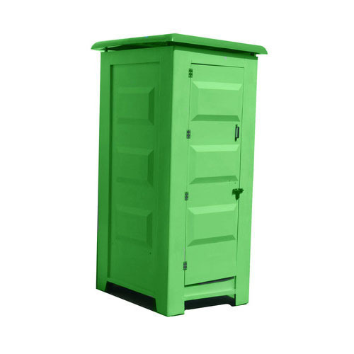 Green Color Mobile Toilet