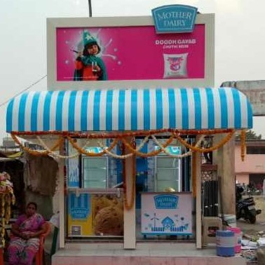 Kiosk For Dairy Product