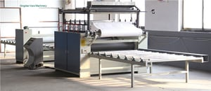 Automatic Pvc Wet Paper Decoration Paper Roll Sheet Lamination Machine For Non Painting Door