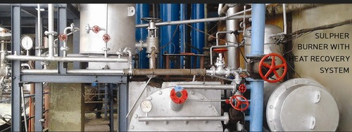 Sulpher Burner With Heat Recovery System