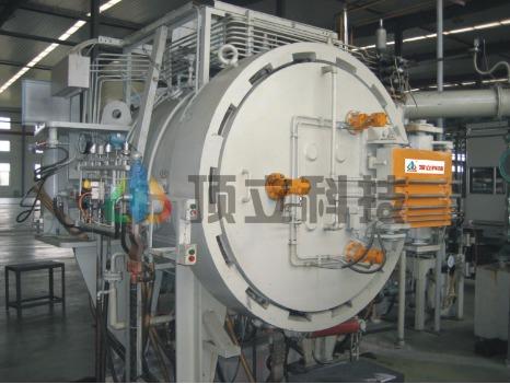 Gas Pressure Sintering Furnace Certifications: Iso 9001