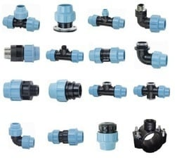 MDPE Pipe Fittings with 1/2 Inch Thread Size