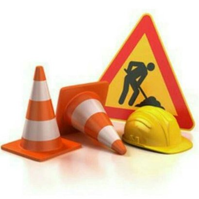Road Safety Kit (Cone, Helmet And Sign Board)