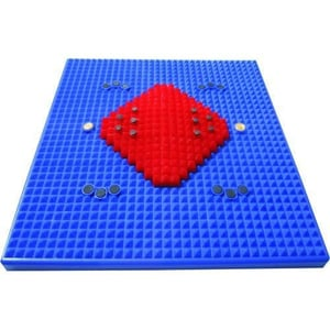Red And Blue Acupressure Mat