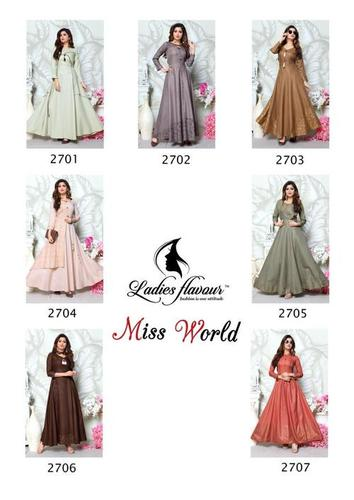 Miss World Gown Catalog