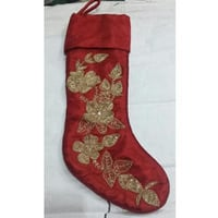 Christmas Embroidery Stocking Holder