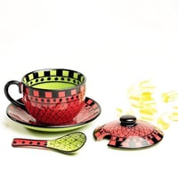 Ceramic Soup Bowls With Cover