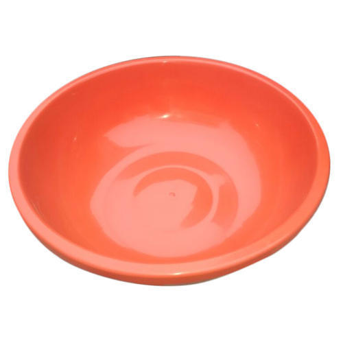 Orange Color Plastic Basin