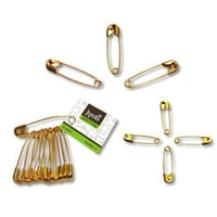 Steel and Brass Safety Pin
